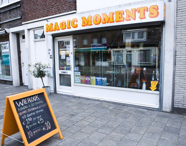 gevel van Magic Moments Eindhoven